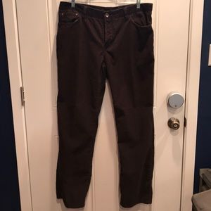 Men's Corduroy Pants 38x34